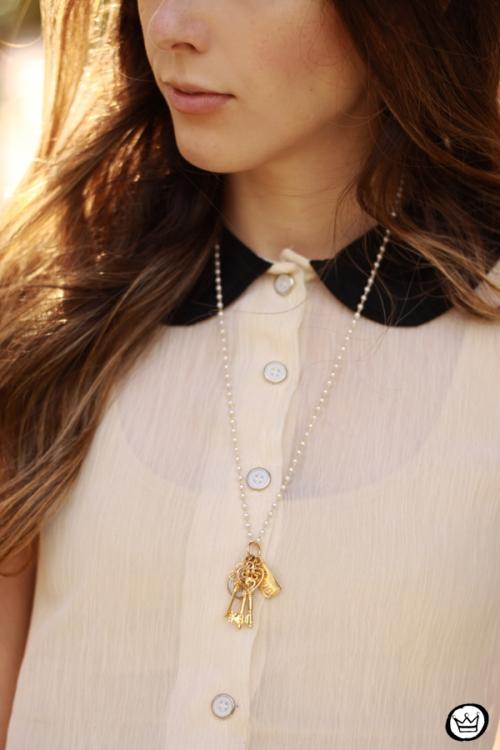 FashionCoolture necklace Le DIamonds