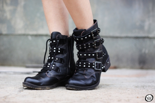 FashionCoolture - 06.05.2014 look du  jour Dafiti black studded rocker (5)