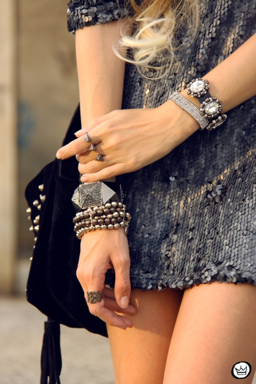 FashionCoolture - 09.05.2014 look du jour As Marias sequins studded (3)