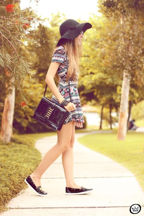 FashionCoolture - 11.05.2014 look du jour ethnic printed dress  (1)