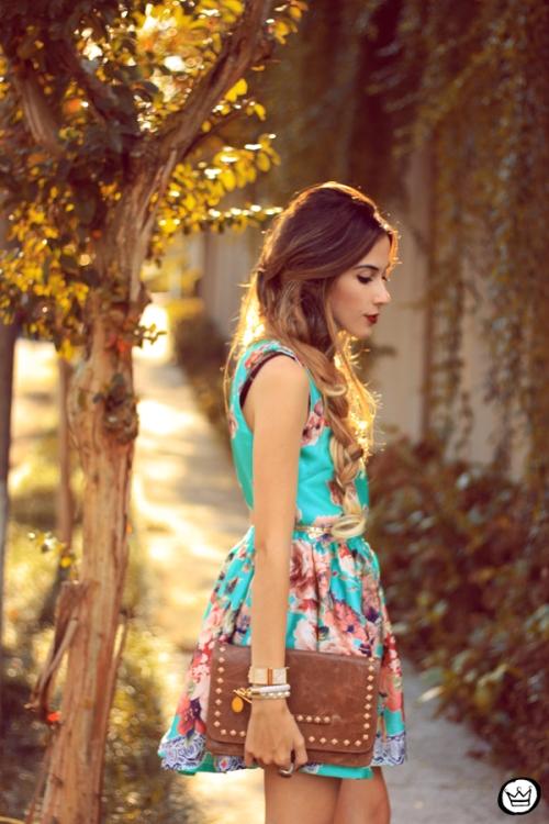 FashionCoolture - 12.05.2014 look du jour iloveflats floral dress (2)