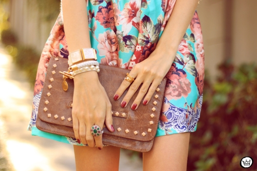 FashionCoolture - 12.05.2014 look du jour iloveflats floral dress (5)