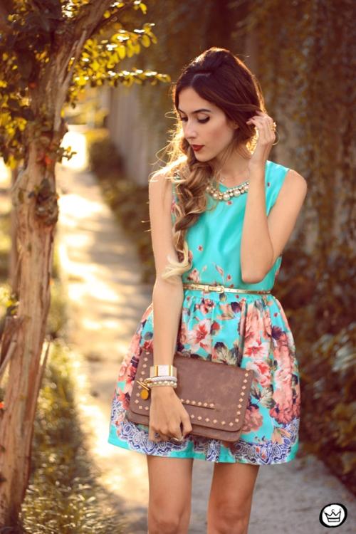 FashionCoolture - 12.05.2014 look du jour iloveflats floral dress (6)