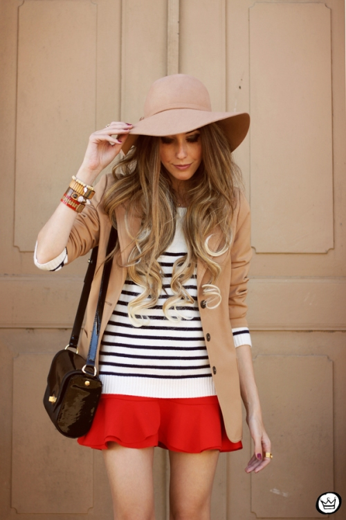 FashionCoolture - 13.05.2014 look du jour striped jumper vintage blazer (2)