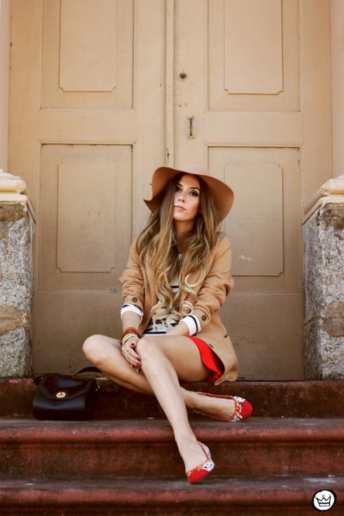 FashionCoolture - 13.05.2014 look du jour striped jumper vintage blazer (3)