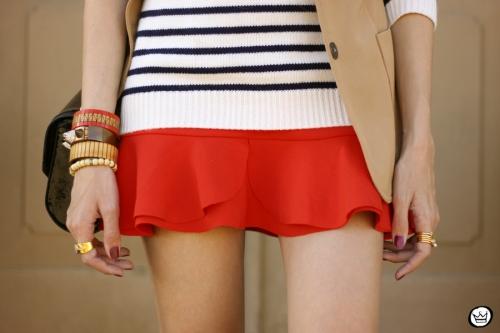 FashionCoolture - 13.05.2014 look du jour striped jumper vintage blazer (5)