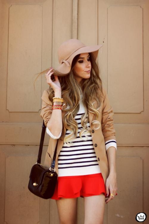 FashionCoolture - 13.05.2014 look du jour striped jumper vintage blazer (6)