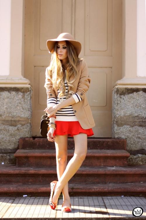 FashionCoolture - 13.05.2014 look du jour striped jumper vintage blazer (7)
