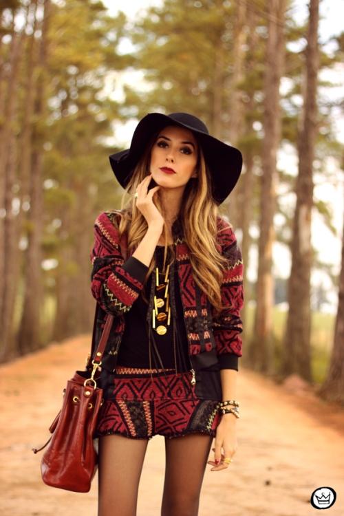 FashionCoolture - 15.05.2014 look du jour ethnic print suit (6)