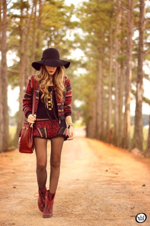FashionCoolture - 15.05.2014 look du jour ethnic print suit (7)