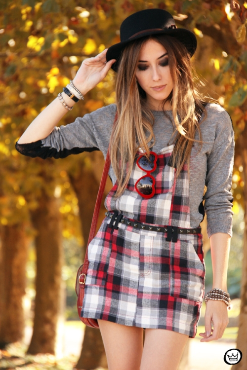 FashionCoolture - 18.05.2014 look du jour plaid casual outfit (2)