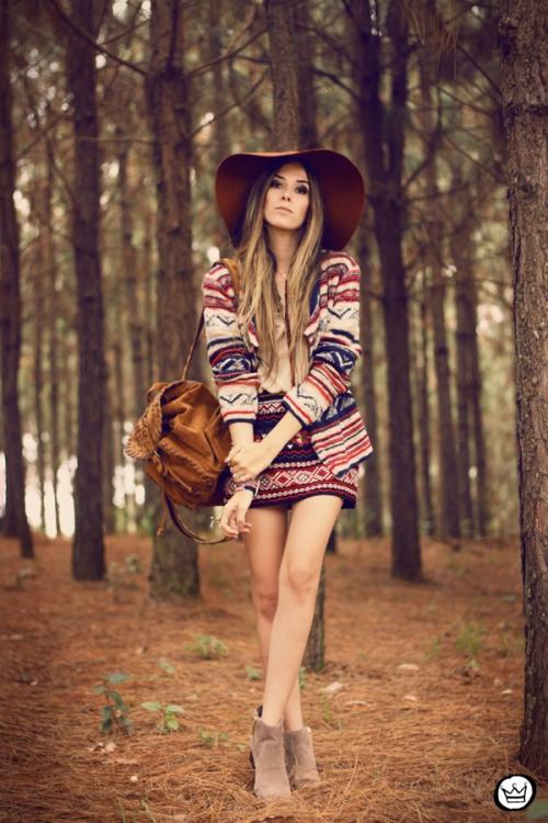 FashionCoolture - 20.05.2014 look du jour Haes ethnic (1)