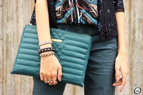 FashionCoolture - 21.05.2014 look du jour Dafiti flare jeans sequined jacket (3)