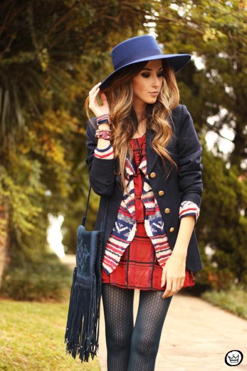 FashionCoolture - 22.05.2014 look du jour Displicent Haes ethnic plaid (5)
