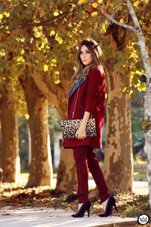 FashionCoolture - 26.05.2014 look du jour Displicent burgundy jeans rocker (5)