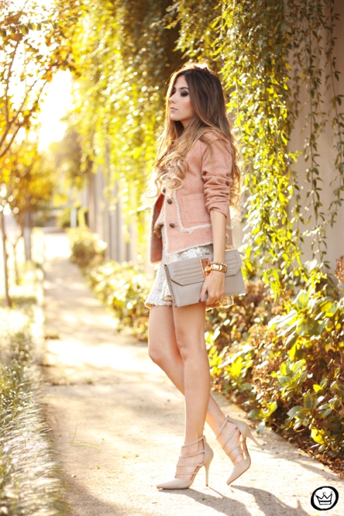 FashionCoolture - 27.05.2014 look du jour Dafiti girly outfit sequined skirt (3)