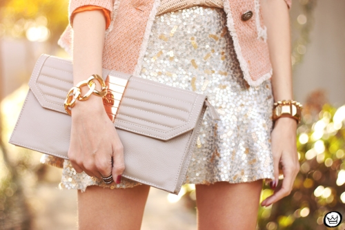 FashionCoolture - 27.05.2014 look du jour Dafiti girly outfit sequined skirt (5)