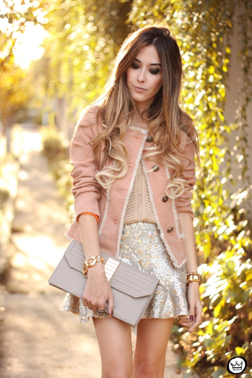 FashionCoolture - 27.05.2014 look du jour Dafiti girly outfit sequined skirt (6)