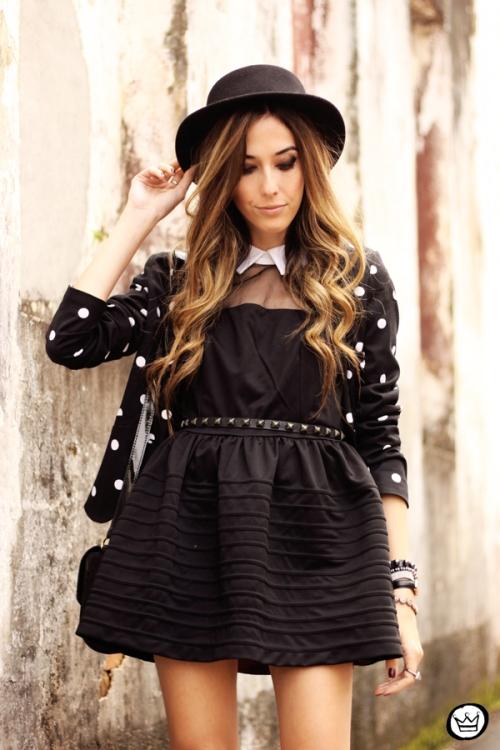 FashionCoolture - 28.05.2014 look du jour little black dress oxfords (6)