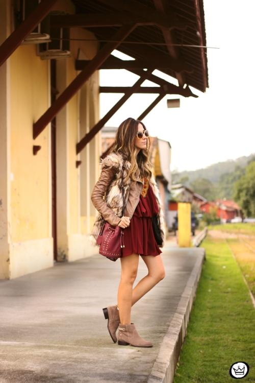 FashionCoolture - 29.05.2014 look du jour Moikana boho outfit faux fur vest (1)