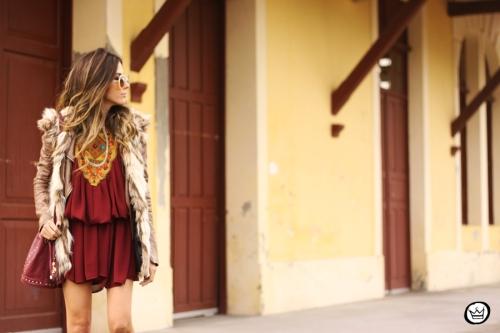 FashionCoolture - 29.05.2014 look du jour Moikana boho outfit faux fur vest (7)