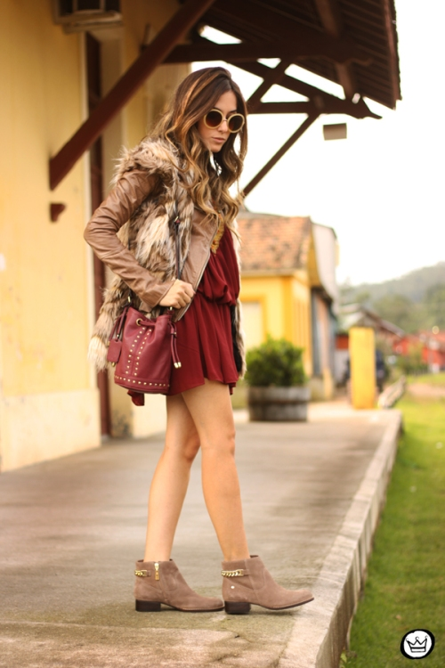 FashionCoolture - 29.05.2014 look du jour Moikana boho outfit faux fur vest (8)