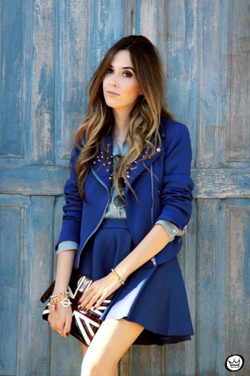 FashionCoolture - 31.05.2014 look du jour Blue monochromatic outfit (2)