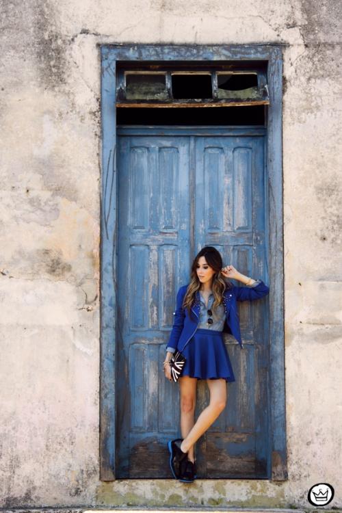 FashionCoolture - 31.05.2014 look du jour Blue monochromatic outfit (3)