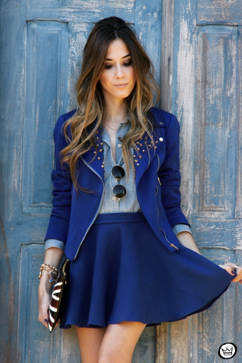 FashionCoolture - 31.05.2014 look du jour Blue monochromatic outfit (5)