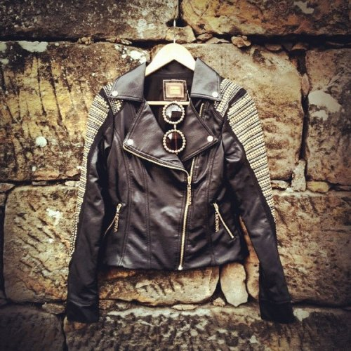 FashionCoolture Moikana leather jacket