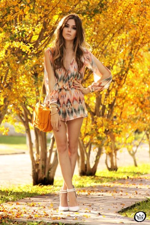 FashionCoolture - 04.06.2014 look du jour Slywear printed jumpsuit (1)