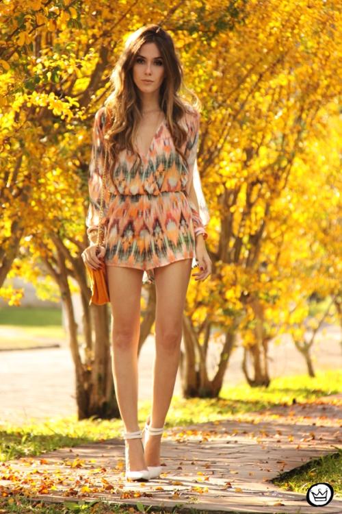 FashionCoolture - 04.06.2014 look du jour Slywear printed jumpsuit (7)