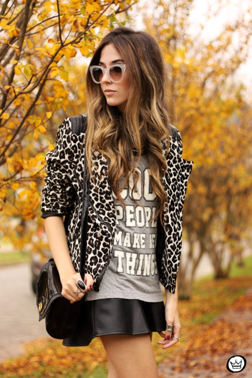 FashionCoolture - 09.06.2014 look du jour Amaro leopard print sneakers (2)