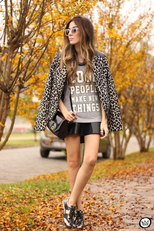 FashionCoolture - 09.06.2014 look du jour Amaro leopard print sneakers (3)
