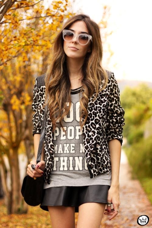 FashionCoolture - 09.06.2014 look du jour Amaro leopard print sneakers (5)