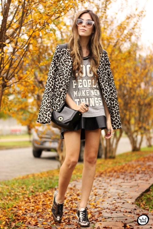 FashionCoolture - 09.06.2014 look du jour Amaro leopard print sneakers (6)