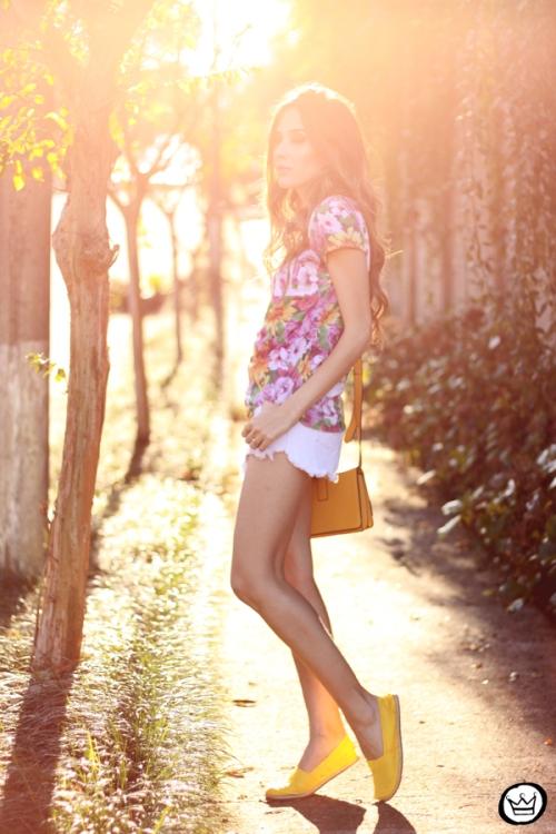 FashionCoolture - 14.06.2014 look du jour tshirt Brasil (3)