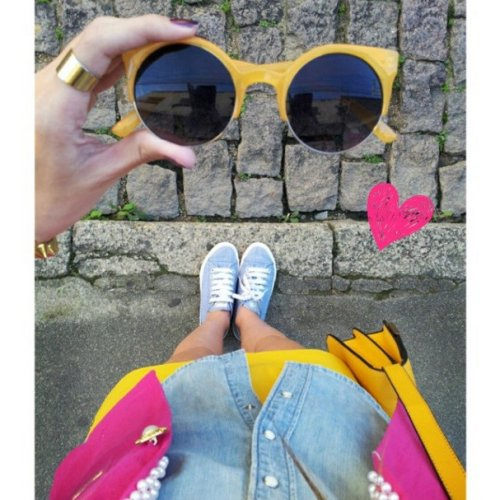 FashionCoolture - Instagram sunglasses