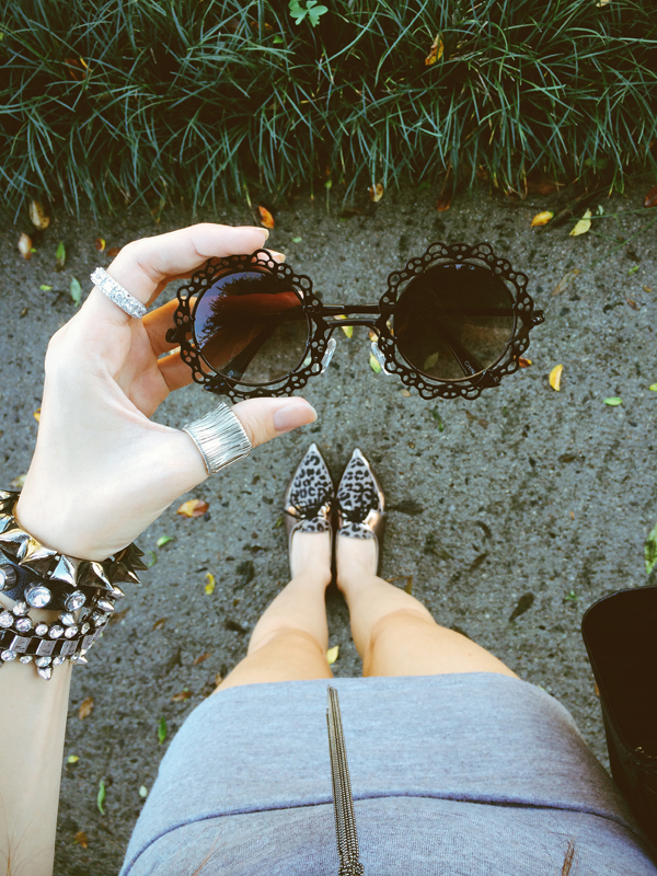 FashionCoolture Instagram sunglasses