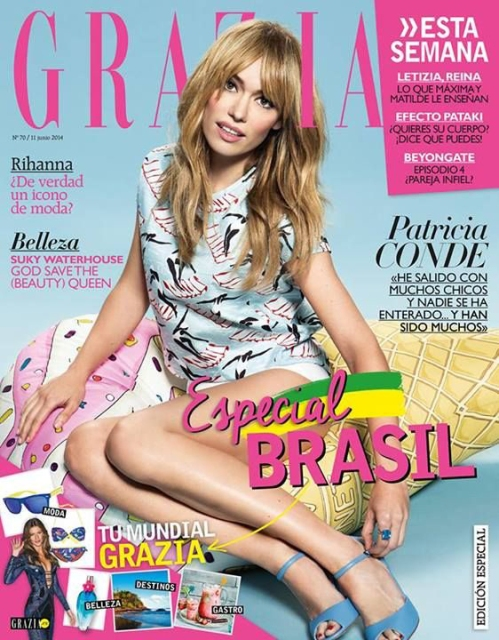 FashionCoolture It girls Brasil Grazia ES