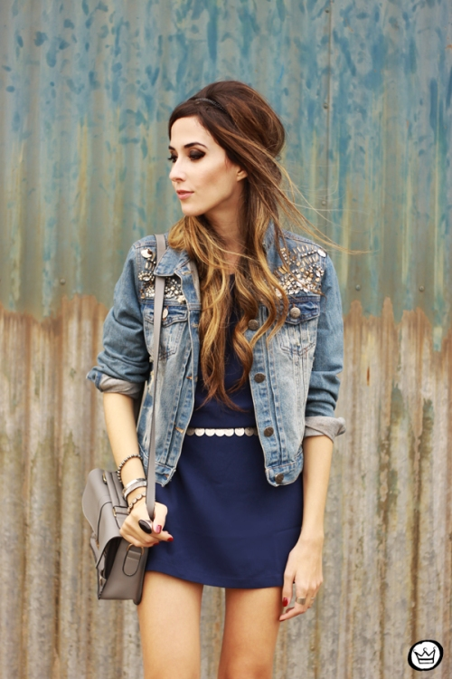 FashionCoolture - 08.07.2014 look du jour Amaro jeans denim jacket (6)