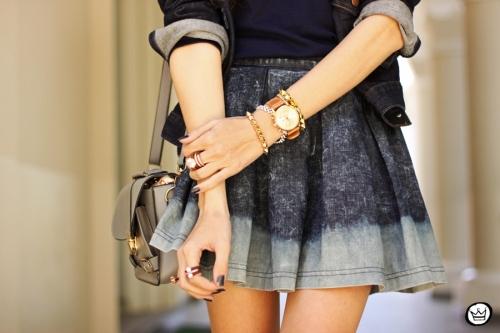 FashionCoolture - 21.07.2014 look du jour Gap blue denim (6)