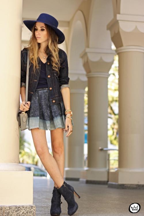 FashionCoolture - 21.07.2014 look du jour Gap blue denim (7)