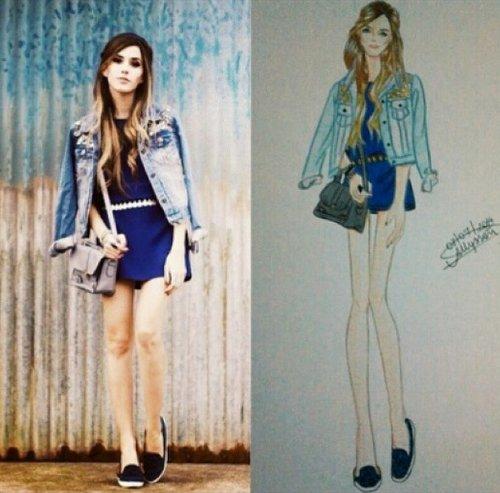 FashionCoolture drawing .