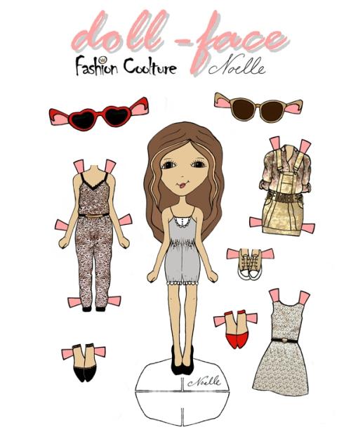 doll face-Fashion Coolture doll cópia