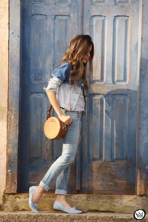 FashionCoolture - 23.08.2014 look du jour denim iloveflats (5)