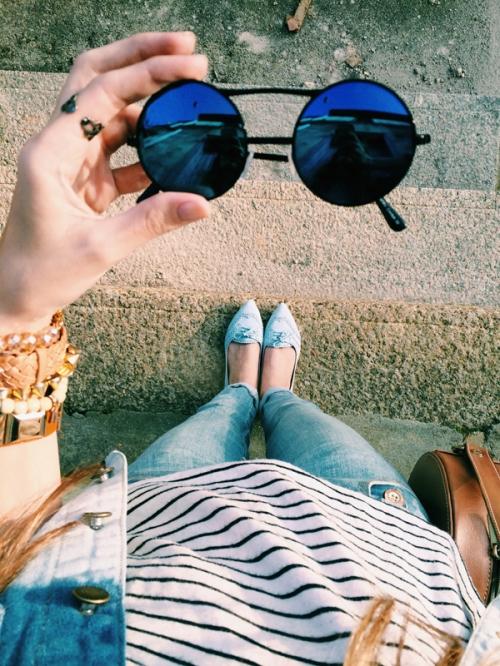 FashionCoolture blue instagram