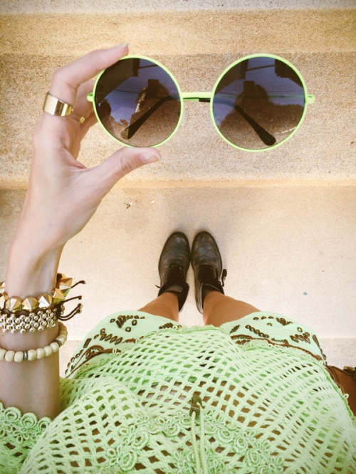 FashionCoolture - Instagram green