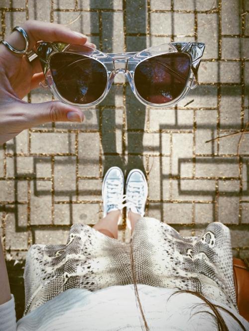 FashionCoolture - Pared sunglasses