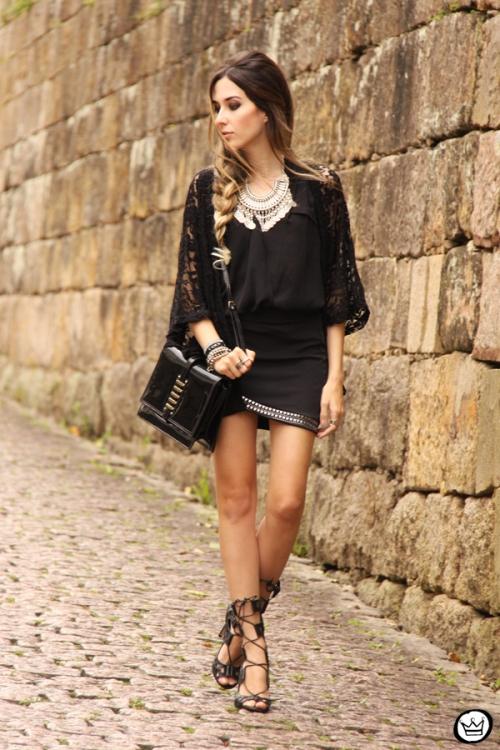 FashionCoolture - 29.09.2014 look du jour black Doce Trama (1)